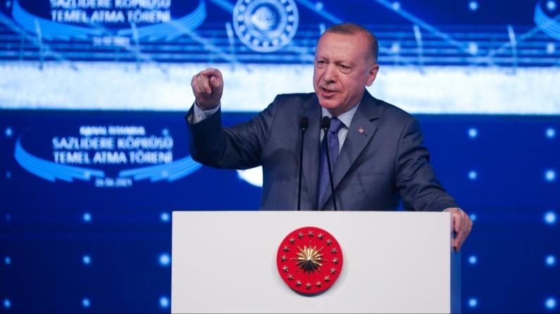 Erdoğan: Kanal İstanbul, İstanbul'un geleceğini kurtarma projesi