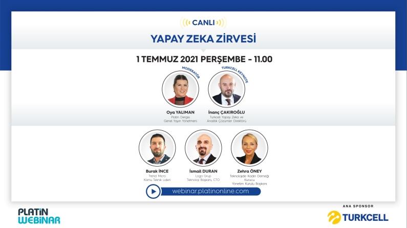 Turkcell sponsorluğunda Yapay Zeka Zirvesi gerçekleşecek