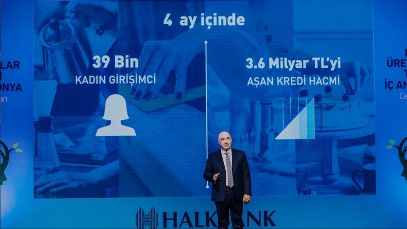 Halkbank'ın kadın girişimci desteğinden 39 bin kadın faydalandı