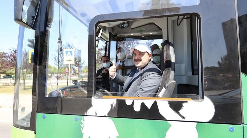 ASELSAN ve TEMSA'nın elektrikli otobüsü Samsun'a hizmet edecek