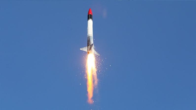 Aya gidecek Sonda Roket Sistemi başarıyla test edildi