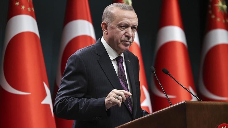 Erdoğan: Olumsuz ekonomik iklime rağmen Türkiye, 2020 yılını yüzde 1,8'lik büyüme ile kapattı