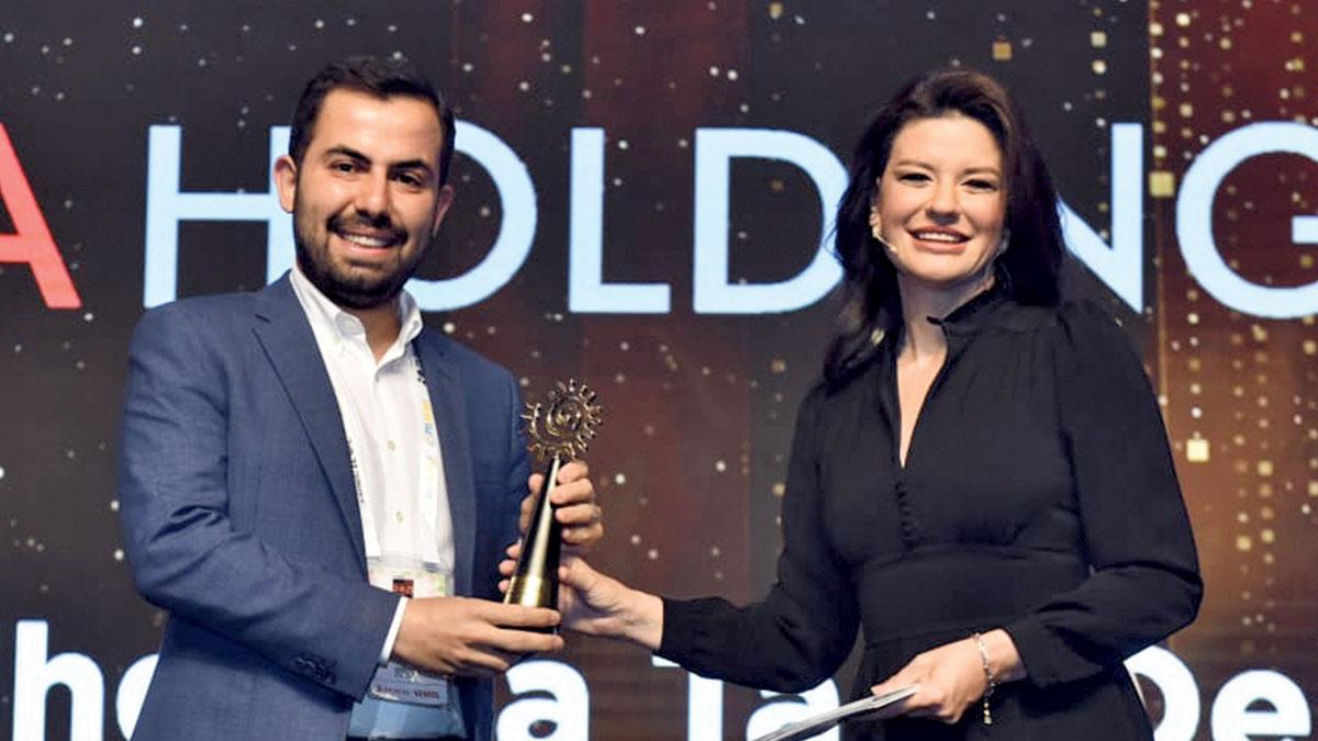 'Pandemi döneminde yatırıma  en büyük destek ödülü'nün sahibi oldu
