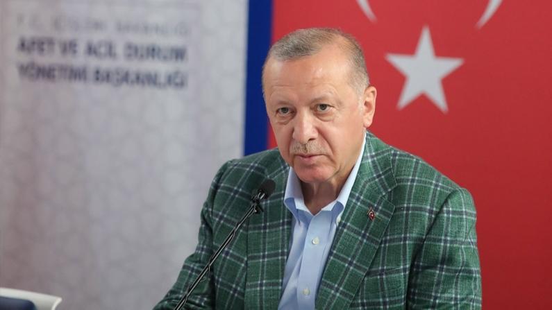 Erdoğan: Orman yangınlarıyla mücadeleye destek veren ülkelere milletim adına teşekkür ediyorum