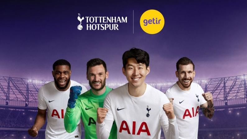 Getir, Tottenham Hotspur'un resmi sponsoru oldu
