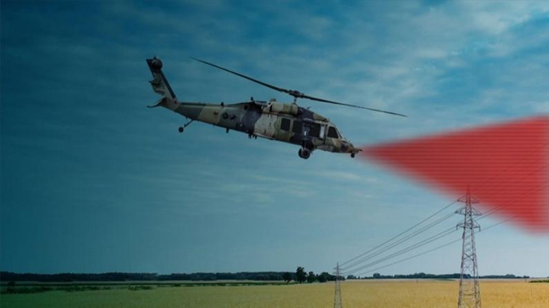 Lazer teknolojisiyle Türk helikopterleri daha güvenli uçacak