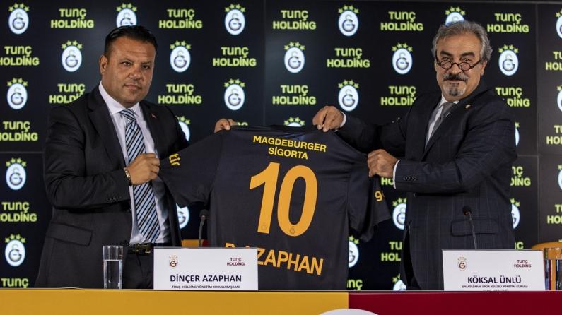Tunç Holding Galatasaray'a sponsor oldu