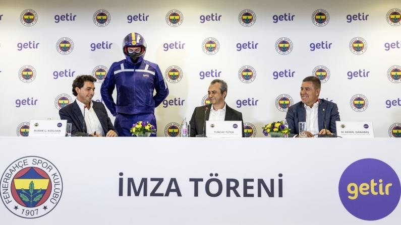 Getir'den Fenerbahçe'ye çifte sponsorluk