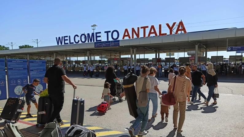 Turist sayısı yüzde 367 arttı