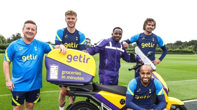 Getir, Tottenham Hotspur'la sponsorluğu bir adım öteye taşıdı