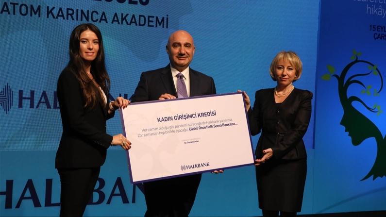 Halkbank'tan binlerce kadın girişimciye 5 milyar TL kredi desteği