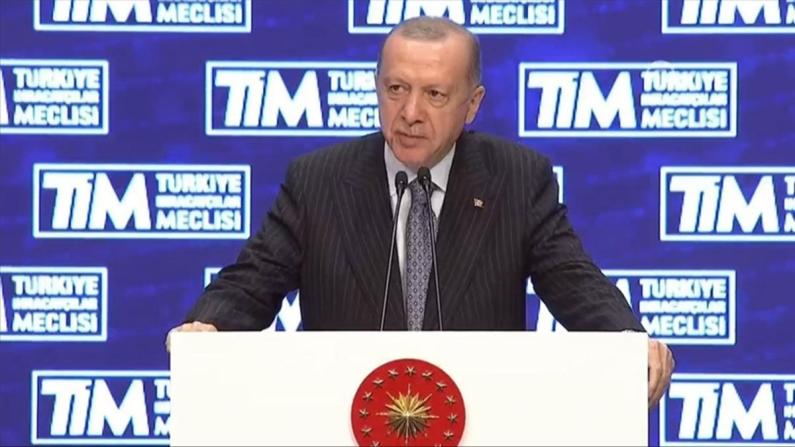 Erdoğan: İhracat başarımız ülkemiz ekonomisinin yükselen gücünün de sembolüdür