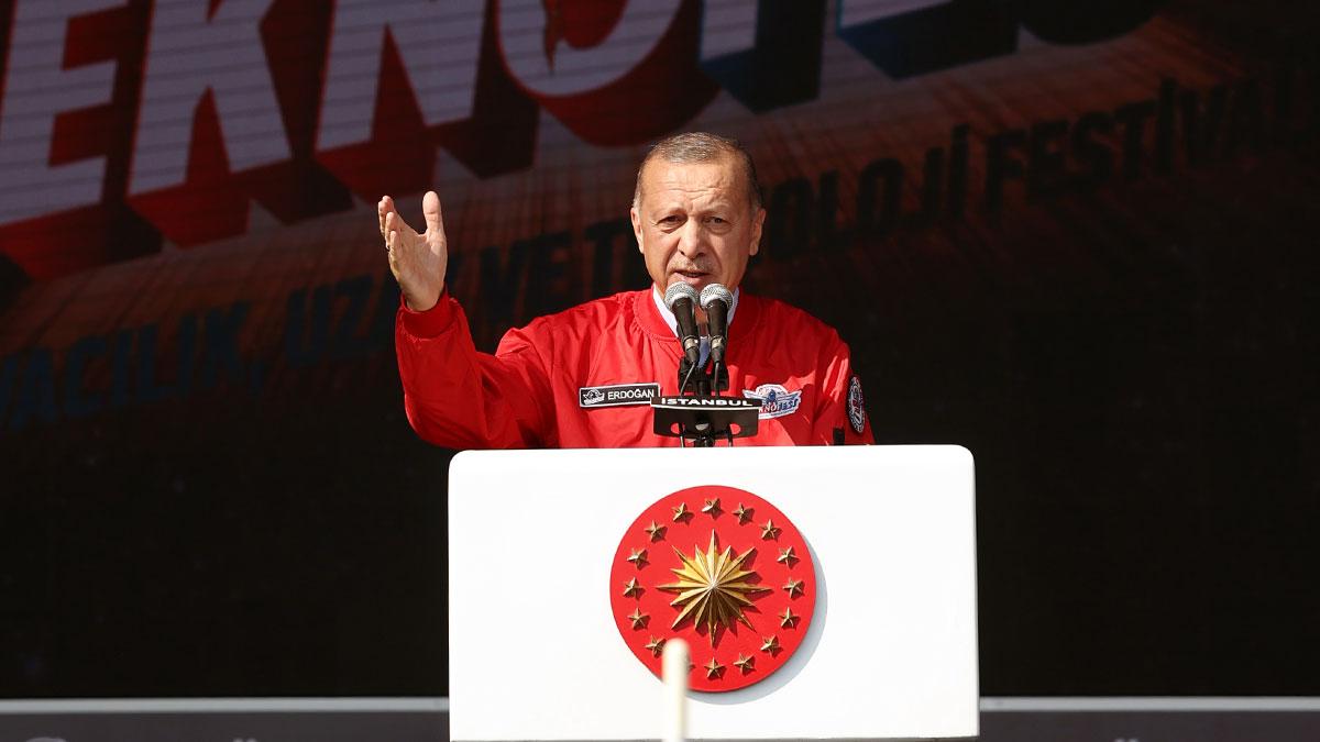Erdoğan: TEKNOFEST'te dünyanın seyrini değiştirecek bilim insanlarını, mucitleri görüyorum