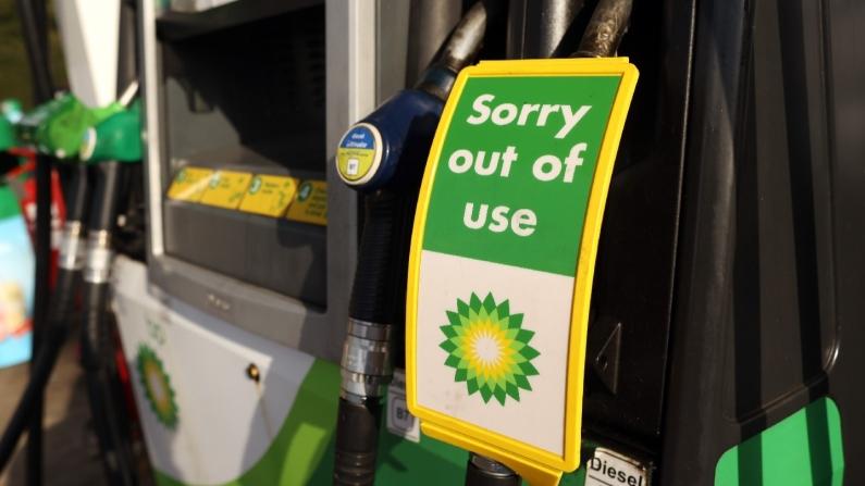 BP'nin İngiltere'deki istasyonlarında yakıt kalmadı