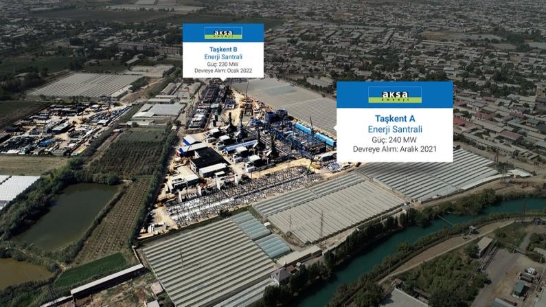 Aksa, Özbekistan'da enerji üretimine başlıyor