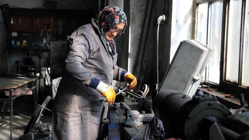 Mavi yakada kadın istihdamı yüzde 17