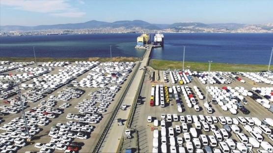 Bursa'da üretilen her 3 araçtan 2'si ihraç edildi