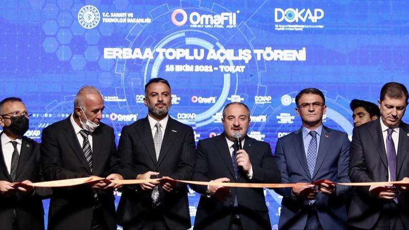 Tokat'ta Avrupa'nın en büyük gipe iplik fabrikası açıldı